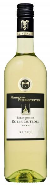 Ehrenkircher Roter Gutedel Qualitätswein trocken