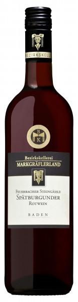 Feuerbacher Steingäßle Spätburgunder Qualitätswein feinherb