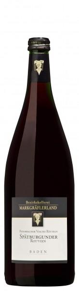 Feuerbacher Vogtei Rötteln Spätburgun Qualitätswein feinherb