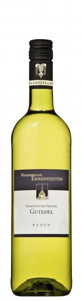 Ehrenstetter Oelberg Gutedel Qualitätswein feinherb