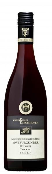 Kirchhofener Batzenberg Spätburgunder Qualitätswein trocken