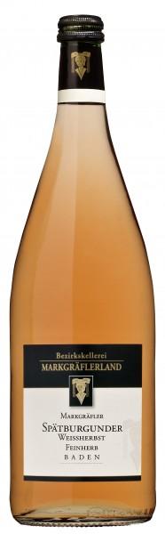 Markgräfler Spätburgunder Weißherbst Qualitätswein feinherb