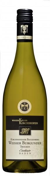 Kirchhofener Batzenberg Weißburgunder Qualitätswein trocken Exclusiv