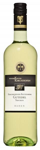 Kirchhofener Batzenberg Gutedel Qualitätswein trocken