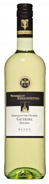 Ehrenstetter Oelberg Gutedel Qualitätswein trocken